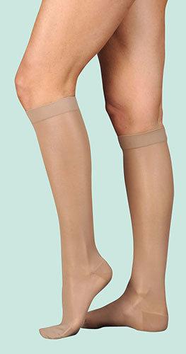 Juzo Naturally Sheer: Lower Extremity (Knee)- Model 2100/2101/2 AD
