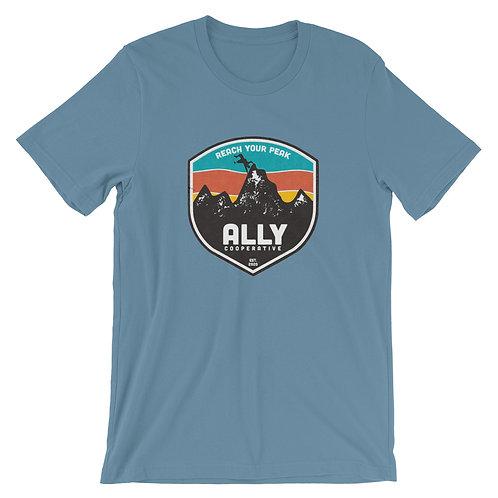 Reach Your Peak Short-Sleeve Gender Inclusive T-Shirt