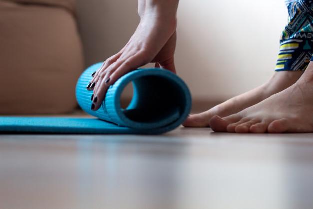 yoga mat rol