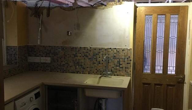 Kitchen During Refurbishment