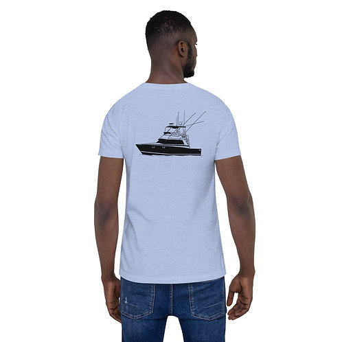 Bertram 38 Custom Design Short-Sleeve Unisex T-Shirt