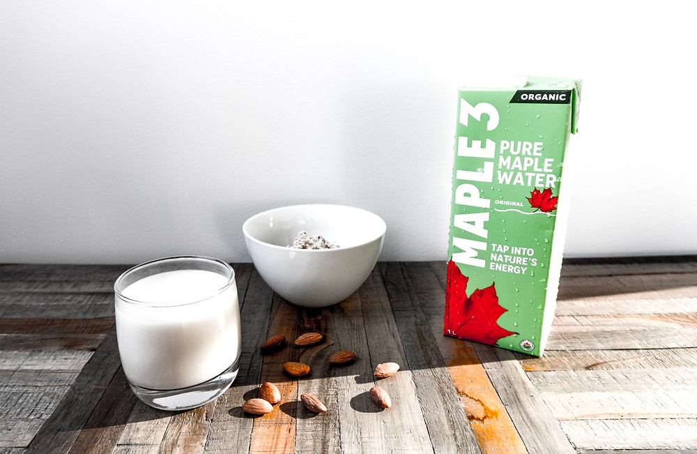 Lait d'amande Maple 3