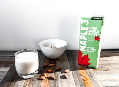 Maple Water and Almond Milk Recipe