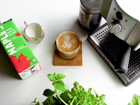 Un café infusé à l'eau d'érable!