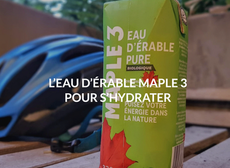 Maple Water, a Good Hydration when Cycling
