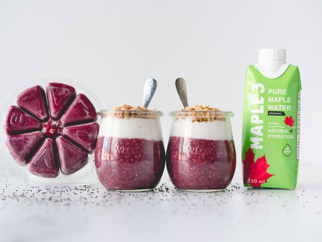 Maple Water and Chia Pudding Recipe