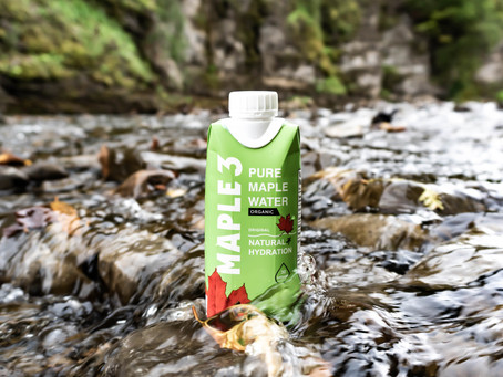 Maple 3 maple water selected as one of the best waters in the world!