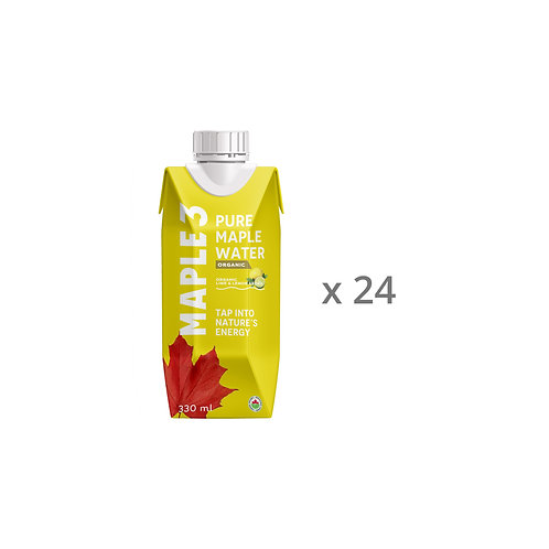 Lemon/lime Flavoured Maple Water - 24 x 330 ML