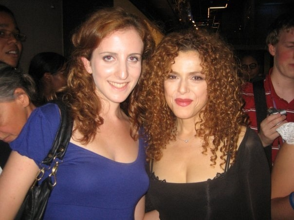 Bernadette Peters and I