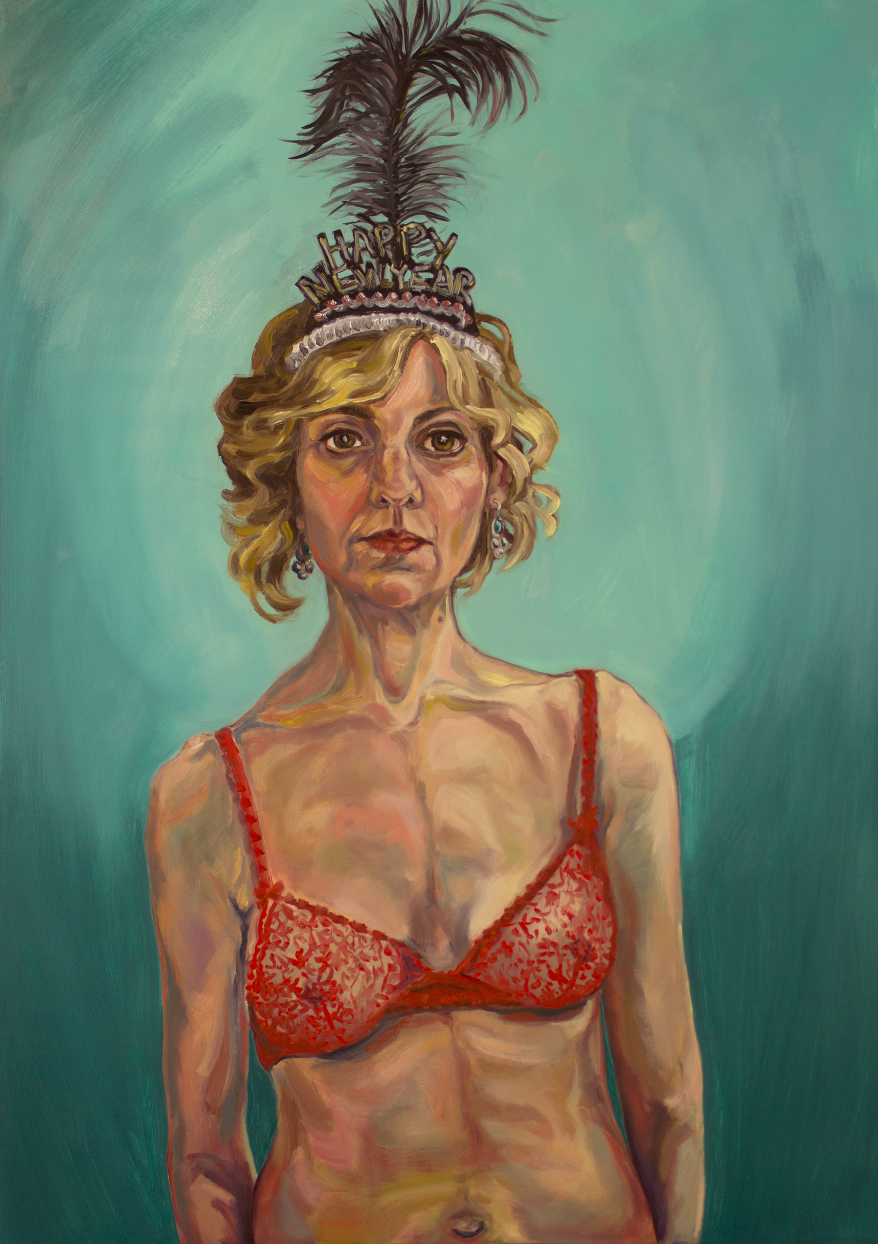Self Portrait as Showgirl