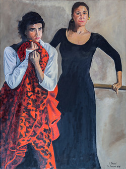 A Break from Flamenco Dancing