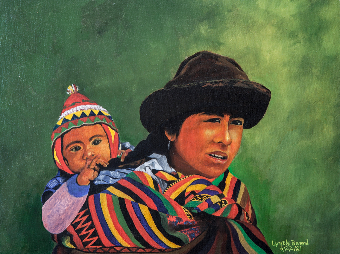Inca mother and child (1981)