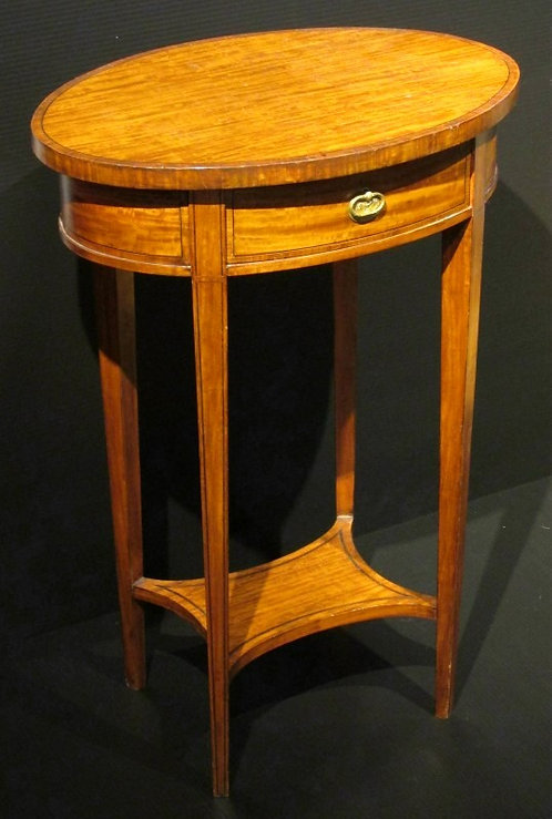 A Very Fine & Elegant Satinwood Occasional Table, English Circa 1910