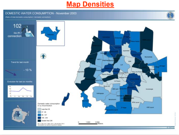 Map Densities