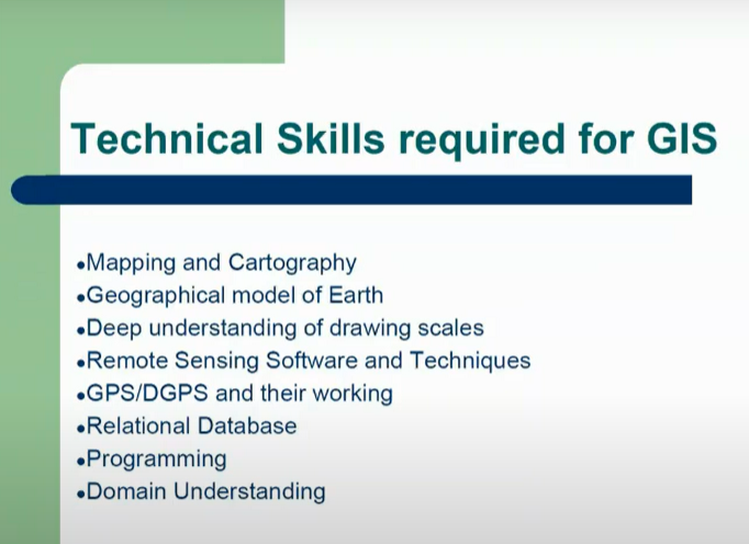 Technical Skills Required