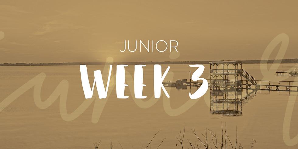 Junior Camp Week 3