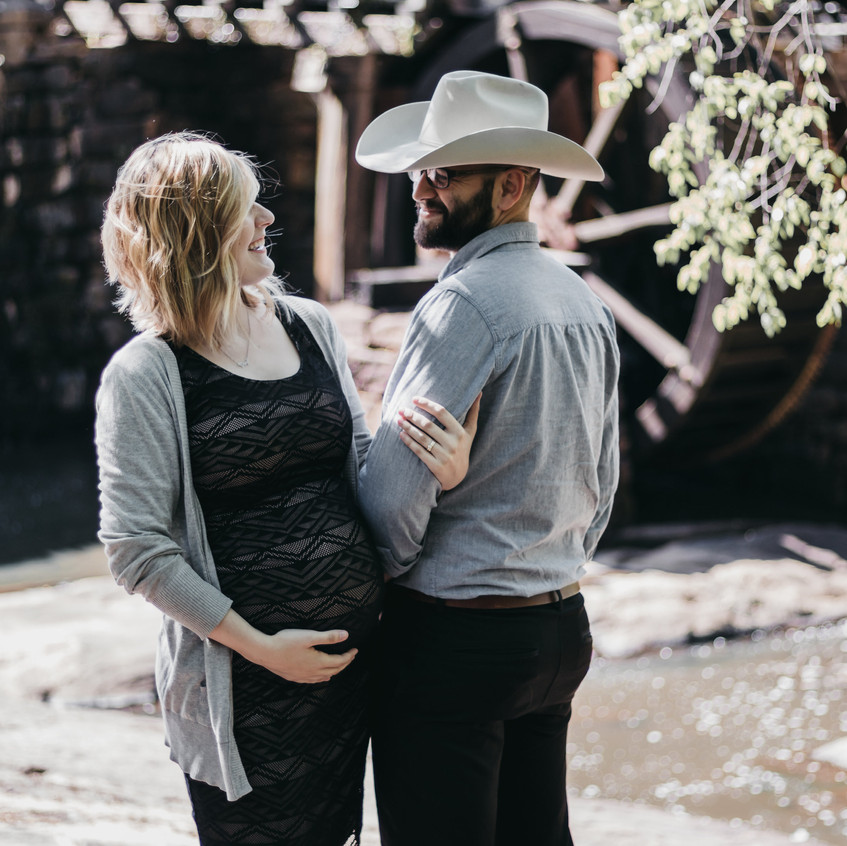 A sweet friend of ours took these awesome maternity shots for us.