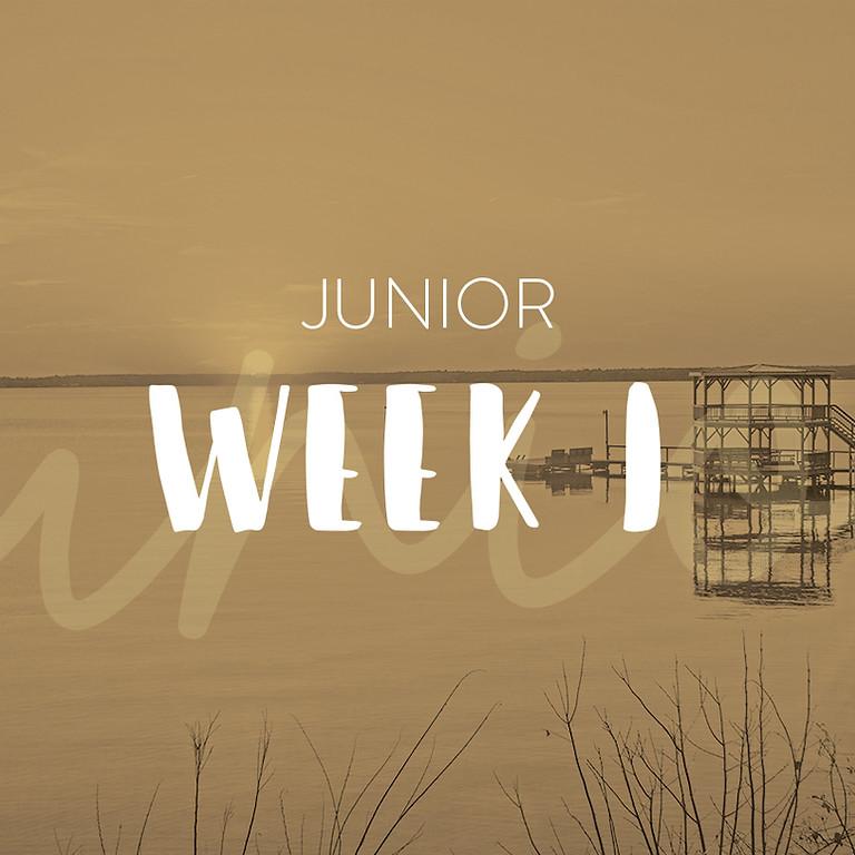 Junior Camp Week 1 -- CLOSED