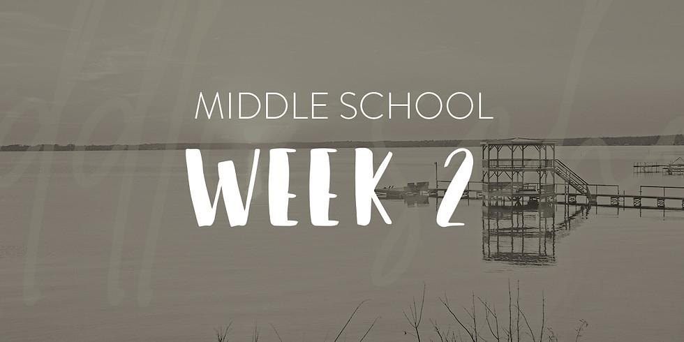 Middle School Week 2