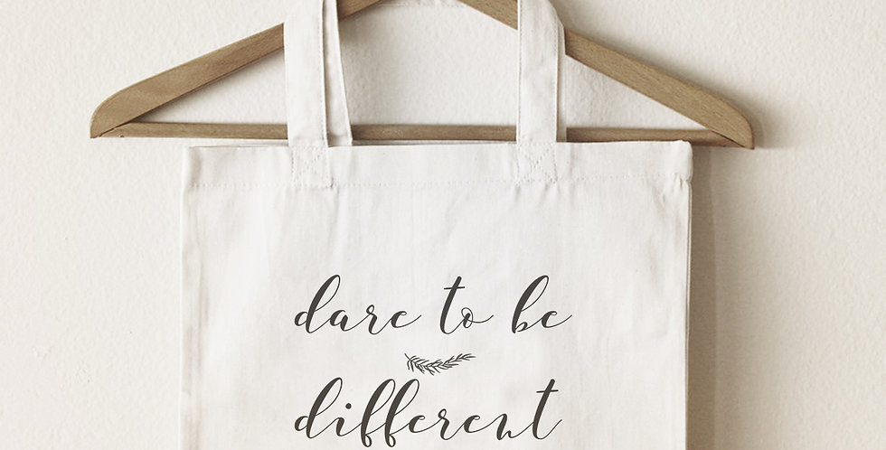 Dare to be Different Tote