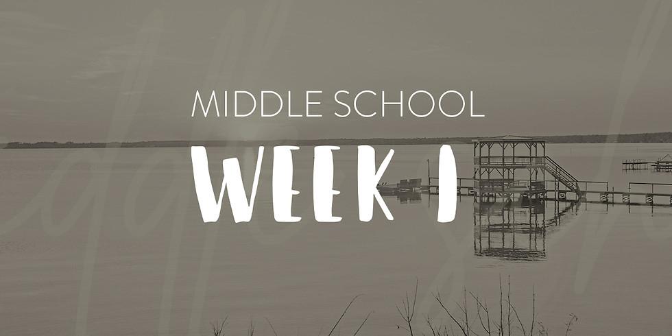 Middle School Week 1