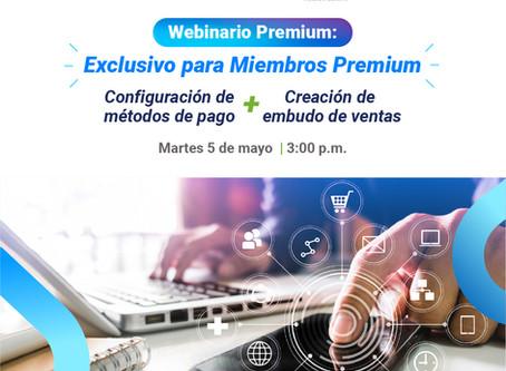 Webinario de SUBE para clientes Premium