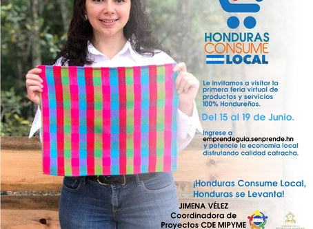 Primera Feria Virtual Honduras Consume Local