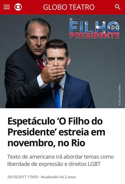 O FILHO DO PRESIDENTE