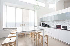 Kitchens in all rental units