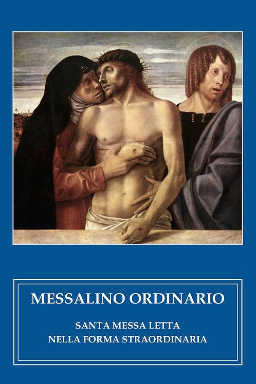 Messalino Ordinario - S. Messa letta - Forma extraordinaria
