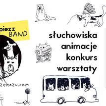 PIEZZ BAND jazzujące multimedialne słuchowiska dla dzieci