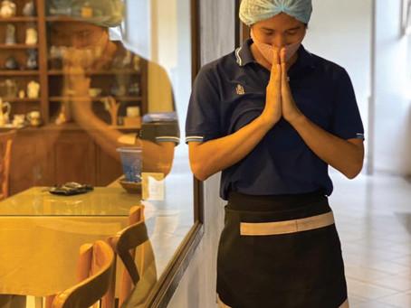 สวัสดีปีใหม่ไทยค่ะ! 🙏🙏วันนี้ได้รับข่าวดีจากมาตรการรับมือกับ Covid-19 ที่ทางโรงแรมได้เริ่มตั้งแต่