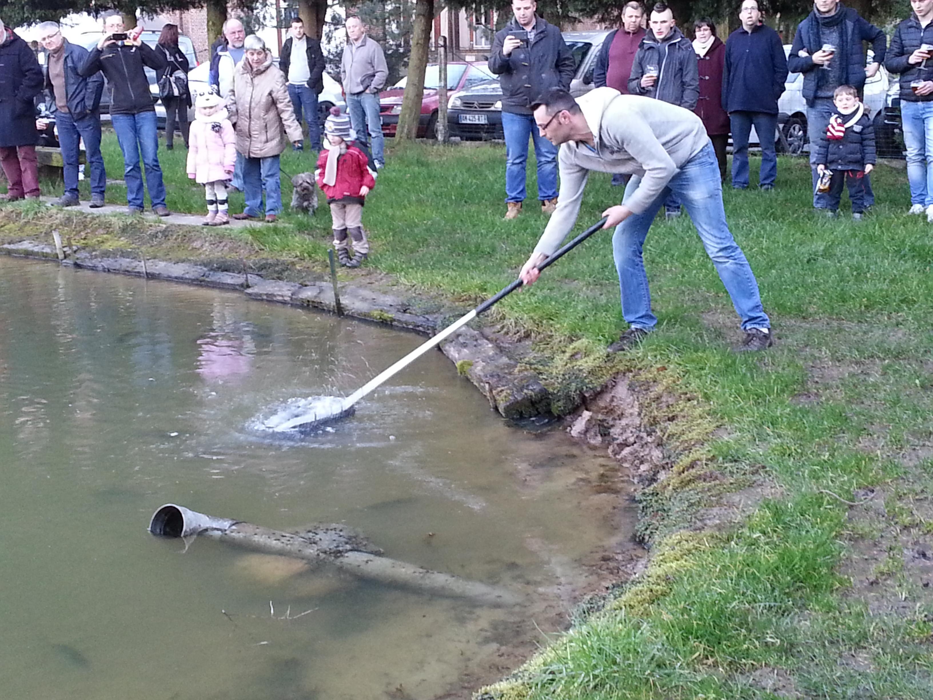 rempoissonnement des étangs à truites
