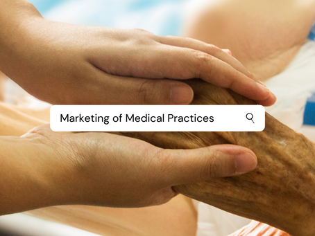 Musings on Medical Marketing