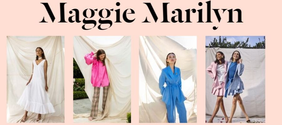 Sustainable luxury brand Maggie Marilyn based in New Zealand
