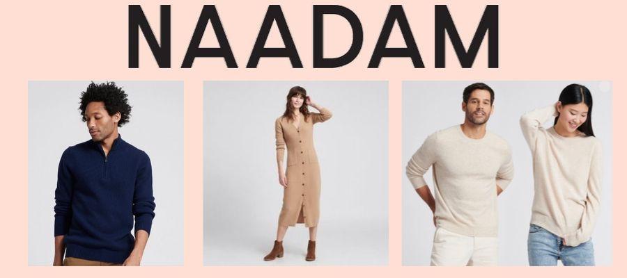 Ethical made cashmere brand NAADAM