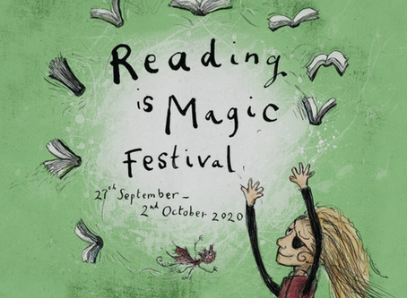 Festival fun at home - Enjoy six days of fabulous reading events!