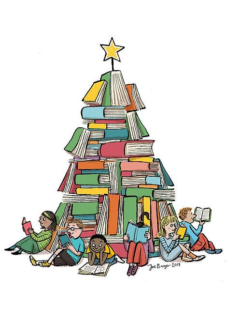 Book tree by Joe Berger