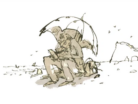 Quentin Blake's 'Anthology of Readers' Opens in London
