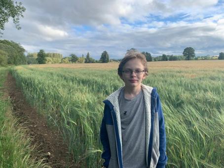 Schoolboy walks 500 miles to support Schoolreaders