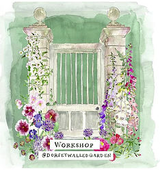 Dorset Walled Garden Workshop Artwork.pn