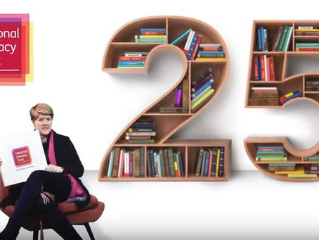25 years of the National Literacy Trust