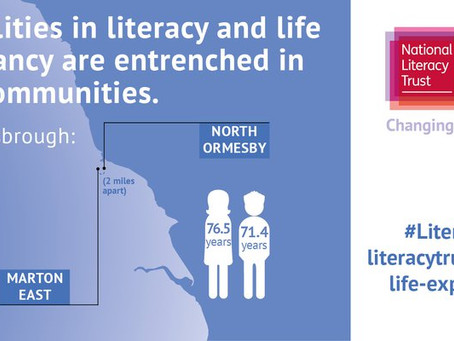Links between literacy and life expectancy
