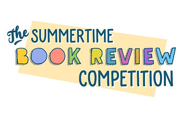 Summertime book review competition logo