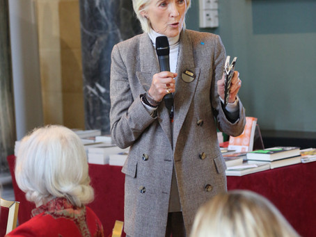 Joanna Trollope joins us for a special lunch at Woburn Abbey