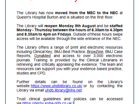 QHB Library has moved!