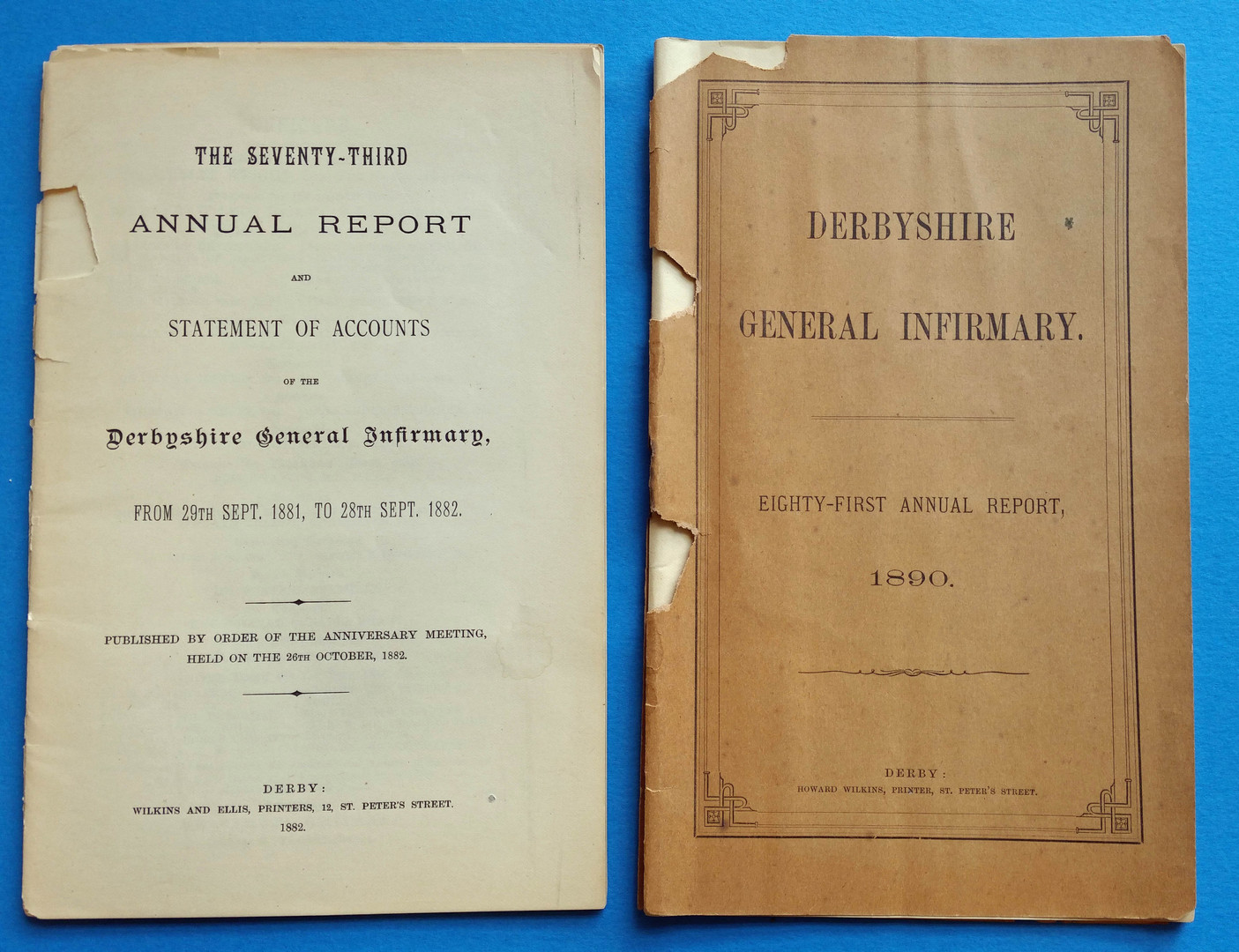 1880s Reports