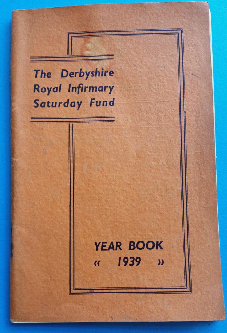 Saturday Fund yearbook 1939