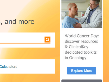 Free Oncology panel & other ClinicalKey resources