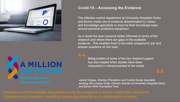 Covid-19 Search Impact Feedback Response